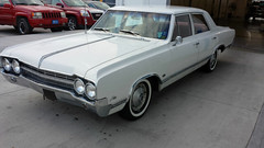 "1965-oldsmobile-f85-4-door-sedan-1 • <a style=""font-size:0.8em;"" href=""http://www.flickr.com/photos/132769014@N07/23417056084/"" target=""_blank"">View on Flickr</a>"