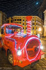 Proyecto 52 (52/52) (J.Loro) Tags: christmas city train tren navidad noche ciudad mallorca palmademallorca 2015 52weeks proyecto52 sonyrx100m3 semana5252