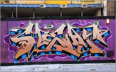 East End Grafitti (Mabacam) Tags: streetart london wall graffiti mural wallart urbanart shoreditch freehand publicart gw aerosolart spraycanart eastend wildstyle 2016 urbanwall ghostwriterscrew