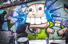 Cheesin' (Rodosaw) Tags: street chicago art photography graffiti culture documentation subculture of