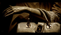 Il_manuale_dell'apparire (Danilo Mazzanti) Tags: photography italia foto photos moda trendy mano fotografia vetrina borsa forme alessandria fotografo danilo onda seppia mazzanti manichino portamento norditalia serravallescrivia danilomazzanti wwwdanilomazzantiit