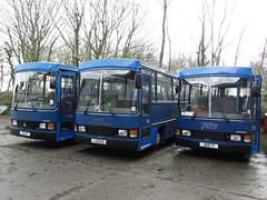 Tantivy 15, 4 & 12 (Coco the Jerzee Busman) Tags: uk blue bus islands coach jersey channel tantivy