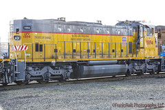 Genset's Lack Of Work (FranksRails Photography, LLC.) Tags: railroad up rail amtrak rails unionpacific lumber conductors donnerpass placercounty roseville uprr autoracks inplacercounty gensets p42s sd60ms sd70aces amtrakscaliforniazephyr c45acctes amtrakbaggage