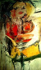 Marilyn Monroe, 1954 // by Willem de Kooning (mike catalonian) Tags: portrait female painting fulllength 1954 1950s willemdekooning xxcentury