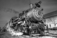 The steam engine (jc1305us) Tags: railroad blackandwhite usa train newjersey nikon power antique engine machine rail steam transportation locomotive engineer hdr steamengine horsepower 1937 americanlocomotivecompany d5100