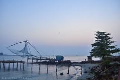 Chinese Fishing Net -  Vypeen, Kochi, Kerala (Babish VB) Tags: india beauty evening kerala cochin kochi chinesefishingnet vypin vypeen