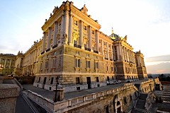 Palacio Real, calle Bailén, Madrid. (M Roa) Tags: