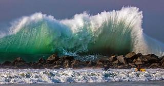 Venice Beach Surf, January 2016.