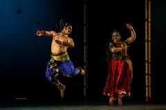 Smt. Pratama Prasad and Sri. Surya Rao (Abhijith Madhukar) Tags: dance costume artist stage indian dancer classical