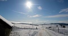 PPP - S06 : On connat la chanson - Le Paradis blanc (odilecuvit) Tags: nature soleil hiver neige paysage blanc puret paradisblanc