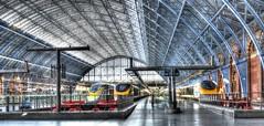St. Pancras. (Alan Burkwood) Tags: london eurostar stpancras tonemapped
