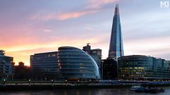 More London (Ming Jun Tan) Tags: uk travel blue sunset london towerbridge europe unitedkingdom cityhall hour bluehour shard renzopiano europeanunion morelondon theshard