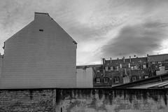 Backyard (tamoko1121) Tags: street urban blackandwhite bw black color monochrome dark 1 fuji no x pro fujifilm streetphotos xpro1 fujifilmxpro1 xf23