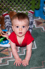Henry at 9 Months (MJM67) Tags: california 50mm nikon flash sb600 henry af nikkor f18 lightroom placercounty d90 50mmf18af