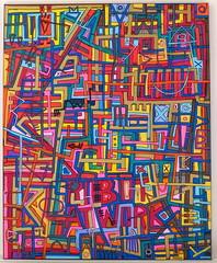 Tarek's painting (Pegasus & Co) Tags: urban streetart art collage painting gallery drawing contemporaryart collages lifestyle drawings exhibition dessin hype beautifulcolors bd dessins artistes  urbain tarek   contemporain