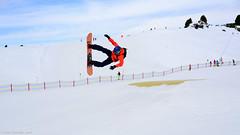 Getting it wrong 5 (Neil. Moralee) Tags: mountain snow color colour sport speed austria am hurt jump kick crash air extreme pump snowboard airborne zell kicker fail ziller neilmoralee nikond7100neilmoraleeaustria