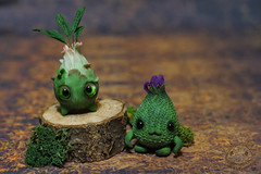 (rioky_angel) Tags: cute monster creativity toys furry handmade ooak fluffy fantasy clay artdoll creature arttoy toymaker polimerclay riokycreatures