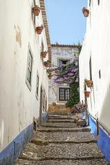 Obidos (Jackx001) Tags: travel blackandwhite color portugal jack photography europe places obidos nobre 2012