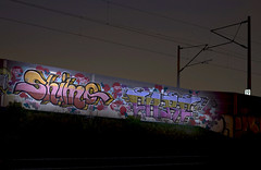 Shimo Reloaded: NightLine  039x (Jupiter-JPTR) Tags: sf germany graffiti cologne colonia nightshots care bb dsc cf ccaa shimo nightvisions nightline jptr dscrew nightpieces museoimaginario trainlinestation