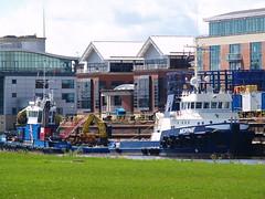 Norne (divnic) Tags: uk sea water boat ship vessel belfast northernireland tugboat ni tug sailor countyantrim irishsea shipscrew lagan riverlagan belfastlough crewman belfastharbour norne victoriachannel belfastloch 9612806 mtnorne imo9612806