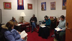 Book study group at Albany KTC