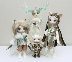 Posse (Damasquerade) Tags: carnival bunny ice cat legs body oz may fantasy rey vanilla bjd luts hybrid fairyland ringo anthro ws lio pipos zuzudelf arubi realfee dearmine dollpamm 2ddoll