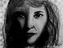 Sylvia Plath (mikeeliza) Tags: portrait art sketch artist philippines manila eliza realism fromphoto plath representational sulvia mikeeliza
