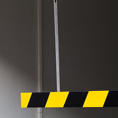 Mind your head! (zeh.hah.es.) Tags: black yellow grey schweiz switzerland garage zurich gray grau gelb zrich schwarz garageneinfahrt hardstrasse