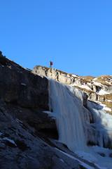 Eisfall (giacomo cristiano) Tags: di montagna cristiano dolomiti giacomo ghiaccio cascata alpinist eisfall