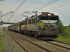 289 (firedmanager) Tags: train tren locomotive mitsubishi locomotora ferrocarril freighttrain renfe trena 289 bobinero tándem railtransport renfemercancías