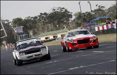 Ford Capri 6L V8 & Chevrolet Camaro (ARNR100) Tags: ford chevrolet capri camaro v8 6l