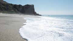 Swept up at Westward Beach (elevatoro) Tags: ocean california blue sky west beach water coast waves pacific rad sunny malibu serene splash beachy scouting justinleibow elevatoro