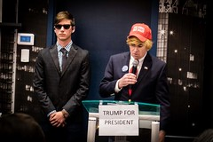 One of Our Partners, David, Impersonating Donald Trump
