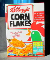 Kellogg's Corn Flakes Promotion Pack Motoring Marvels Of The Sixties Four Corgi Toys Die-Cast Models And Paper Models Of Shops And BP Filling Station 1990s - 1 Of 66 (Kelvin64) Tags: station promotion paper toys four corgi corn models pack shops and bp flakes kelloggs sixties 1990s filling diecast the motoring marvels of