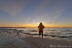 Lake Michigan ... i r here (Ken Scott) Tags: winter sunset usa silhouette march michigan lakemichigan greatlakes hdr freshwater voted selfie ottercreek 2016 benziecounty 45thparallel kenscott plattebay sbdnl sleepingbeardunenationallakeshore mostbeautifulplaceinamerica