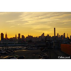 New york sunset (999theo999) Tags: sunset sony bigapple newyorksunset sonya6000 bigapplesunset
