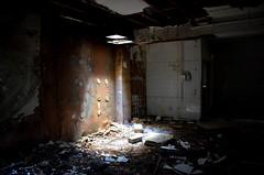 The Motel (sgreen757) Tags: urban abandoned dark hotel empty towers motel down gloucestershire falling explore newport rubbish exploration derelict crusty damp glos urbex