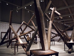 Ai Weiwei (Jori Samonen) Tags: art museum finland helsinki artist chinese indoor palace exhibition tennis aiweiwei