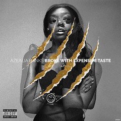 Azealia Banks - Broke With Expensive Taste (jxsefdesign) Tags: music art love design artwork graphics with graphic album cover albumcover taste expensive broke banks azealia