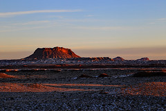 Sunrise on Cedar Mountain, February 2016 (Bob Palin) Tags: winter usa snow cold southwest sunrise landscape utah nationalpark sandstone desert outdoor 100v10f february capitolreef redrock cathedralvalley club100 100vistas instantfave ashotadayorso cloudsstormssunsetssunrises orig:file=2016020805097
