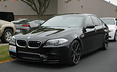 BMW M5 (F10) (SPV Automotive) Tags: black sports car sedan f10 exotic bmw m5