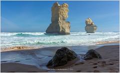 Ocean Rocks, Australia (CvK Photography) Tags: ocean autumn holiday seascape color fall beach rock strand canon coast nationalpark rocks au australia victoria greatoceanroad 12apostles oceaan princetown australi