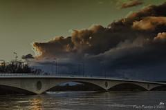 ¿Have you ever seen the rain? (Paco Fuentes Vicario) Tags: españa rio clouds river puente atardecer agua ngc nubes douro ocaso zamora crepúsculo duero castillayleón