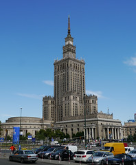 Palace of Culture and Science (radio53) Tags: architecture poland polish soviet warsaw russian warszawa stalin lev pkin stalinist rudnev