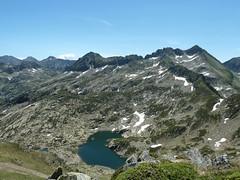 Widok z Przełęczy Portella Estany Tort