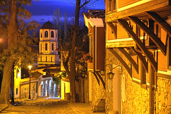 Old Plovdiv (hapulcu) Tags: autumn monastery bulgaria rila bluehour plovdiv bulgarie bulgarien bulgaristan thrace  filibe trakya     phillipoppolis