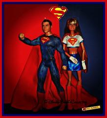 Super Cousins (DisneyBarbieCollector) Tags: kara comics toys dc kent dolls el superman clark supergirl mattel zor