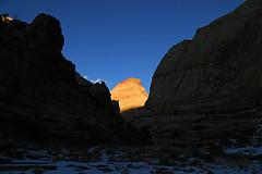 Sunset Throne, Capitol Reef, January 2016 (1) (Bob Palin) Tags: sunset 15fav usa southwest 510fav canon landscape utah nationalpark sandstone outdoor capitolreef redrock 100vistas instantfave canonef24105mmf4lisusm ashotadayorso cloudsstormssunsetssunrises orig:file=2016011504288