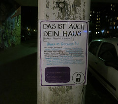 Das ist auch dein Haus (illustir) Tags: city house right your placard ownership