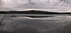 2016_0310Ice-Going-Out-Pano0001 (maineman152 (Lou)) Tags: winter lake ice nature water landscape march pond maine winterweather naturephotography warmweather landscapephotography naturephoto westpond landscapephoto icegoingout